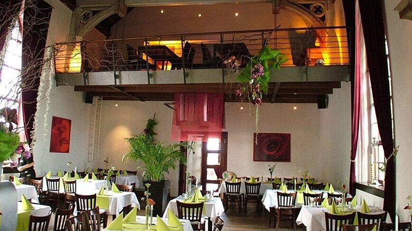 Лютеранский храм в Магдебурге превратился в ресторан «Церковь» / Фото: Restaurant Die Kirche