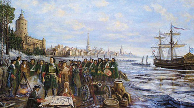 Петру Первому суждено было воевать как со шведами, так и с европейскими дипломатами.