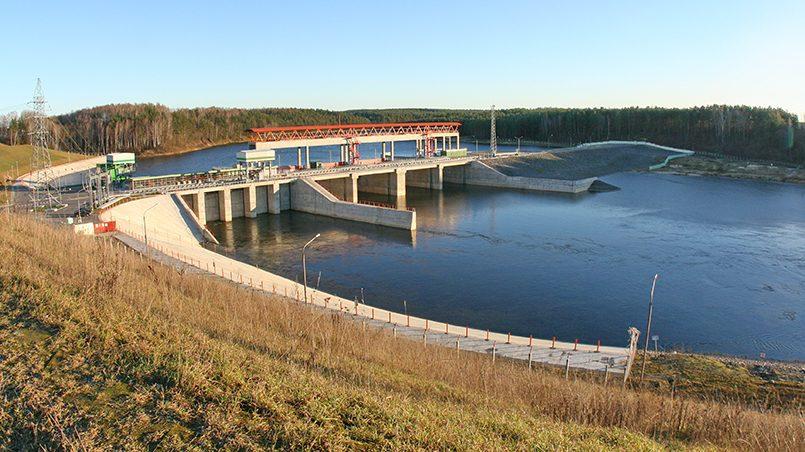 Гродненская ГЭС на р. Неман. Фото: minenergo.gov.by