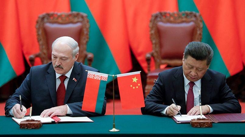 Александр Лукашенко и Си Цзиньпин / Фото: electek.ru
