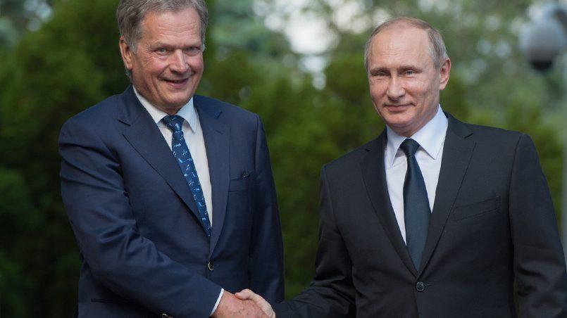 Саули Ниинистё и Владимир Путин / Фото: Life.ru