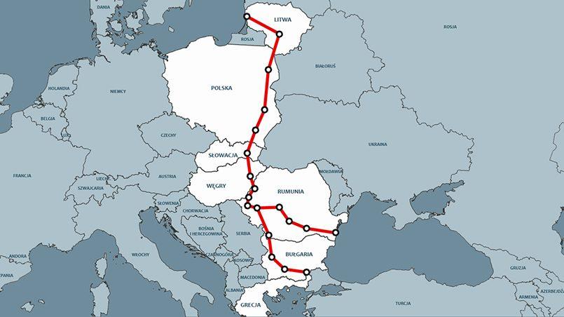 Автомагистраль Via Carpatia должна соединить литовскую Клайпеду и греческий город Салоники /portalmorski.pl