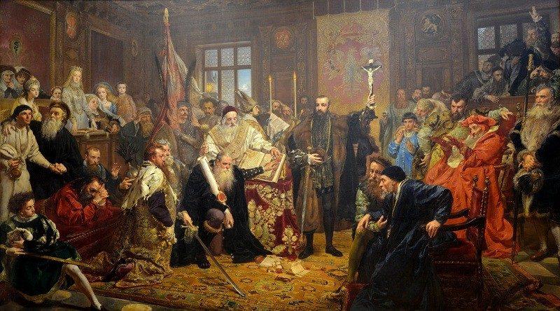 Люблинская уния 1569 года способствовала формированию Государства двух наций