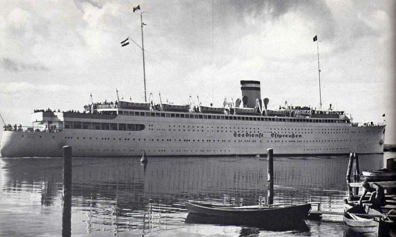 Мемель, порт, конец 30-х или начало 40-х гг.