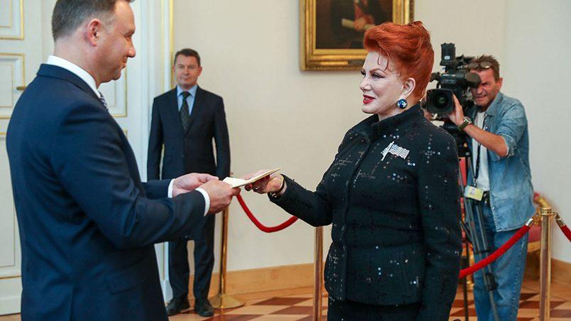Джорджетт Мосбахер и Анджей Дуда / Фото: Naaju