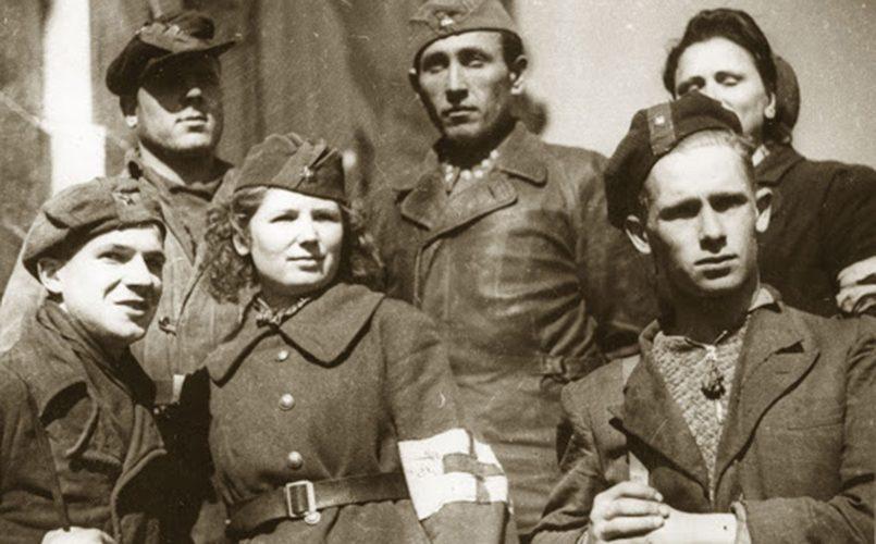 Партизаны из отряда «Мститель»