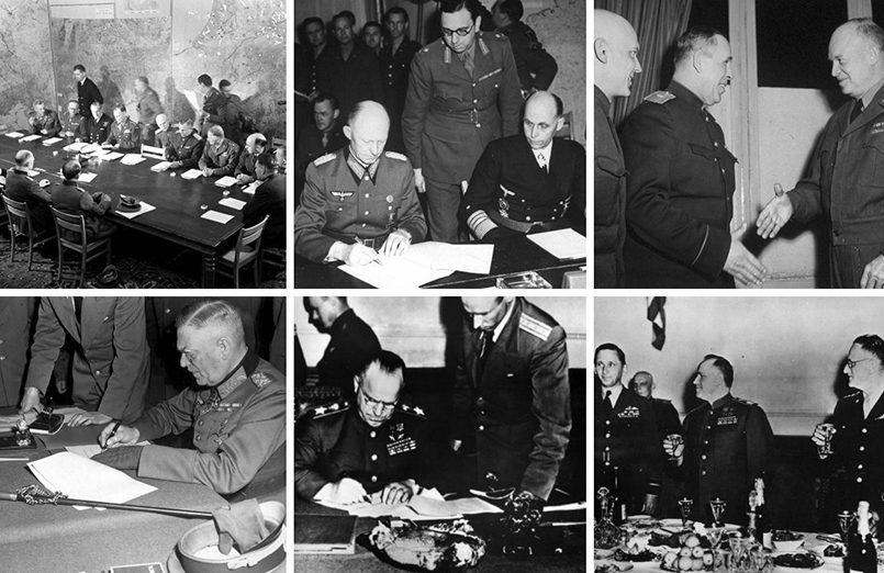 Подписание акта о капитуляции Германии / Фото: yandex.net