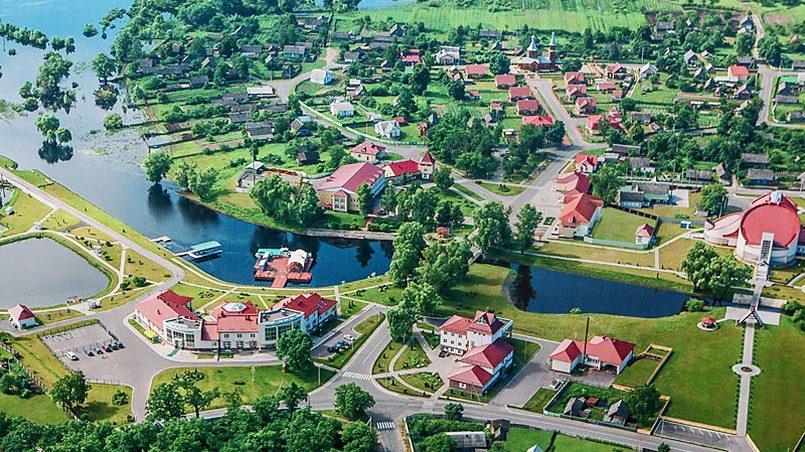 Агрогородок Лясковичи / Фото: belarus.by