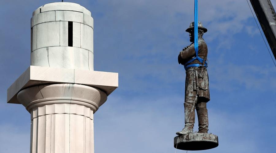 Cпоры о памятниках Конфедерации
