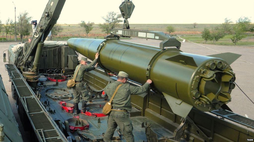 Русские военные получили ракетный комплекс «Искандер-М»