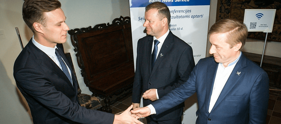 Консерваторы задумались об установлении контроля над правительством Литвы