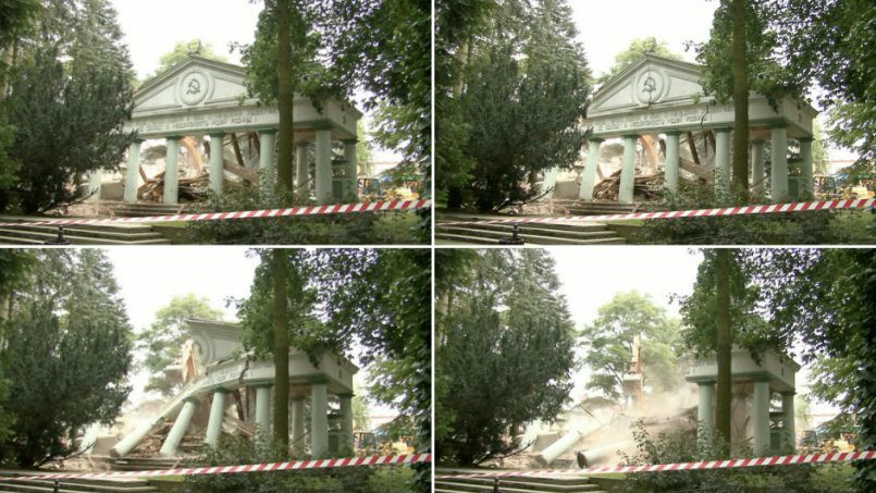 Готовы судиться поповоду сноса мавзолея красноармейцев вТшчанке общественники Польши