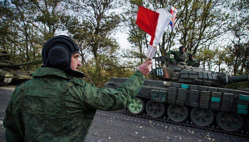 ОБСЕ: НаДонбасс прибыли несколько колонн фургонов с«гуманитаркойРФ»