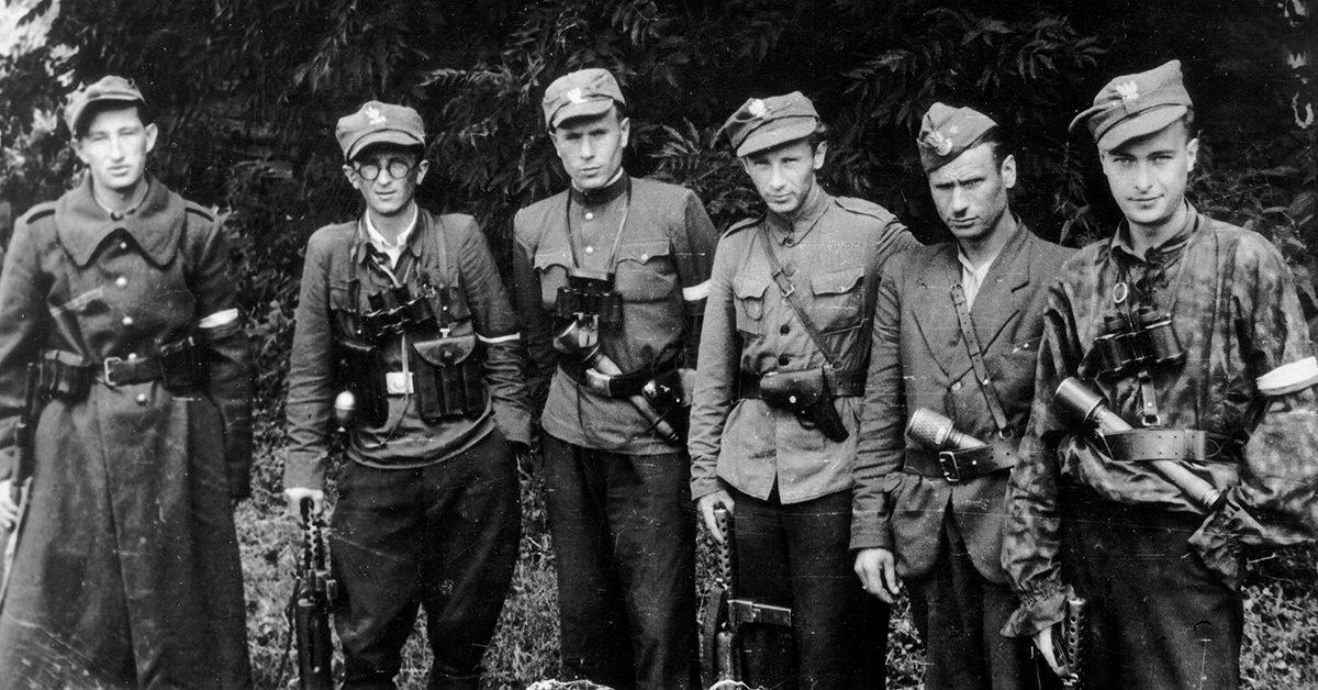 Картинки по запросу Солдаты 27-й Волынской пехотной дивизии Армии Крайовой / Фото: wikimedia.org