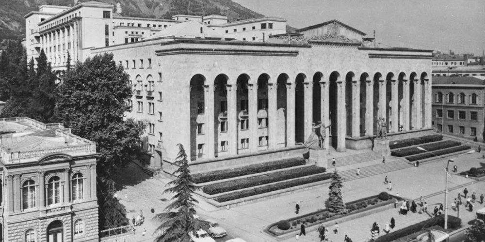 Застывшие в камне: советская архитектура в Грузии