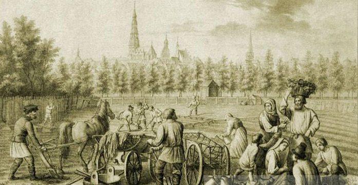 Русское население Прибалтики в средневековье