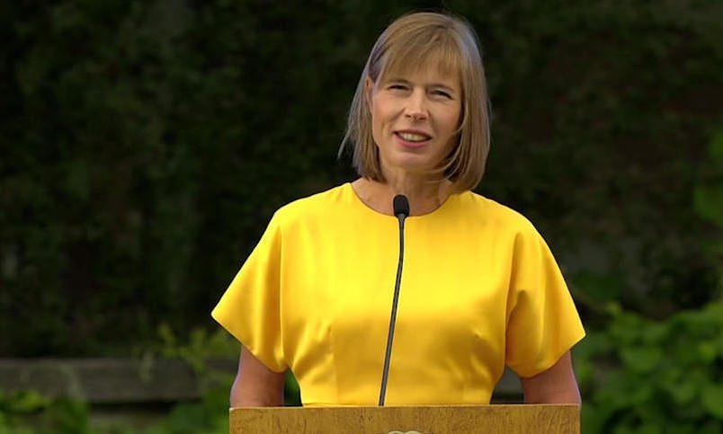 Эстонии угрожает самооккупация— Шокирующее предупреждение Кальюлайд