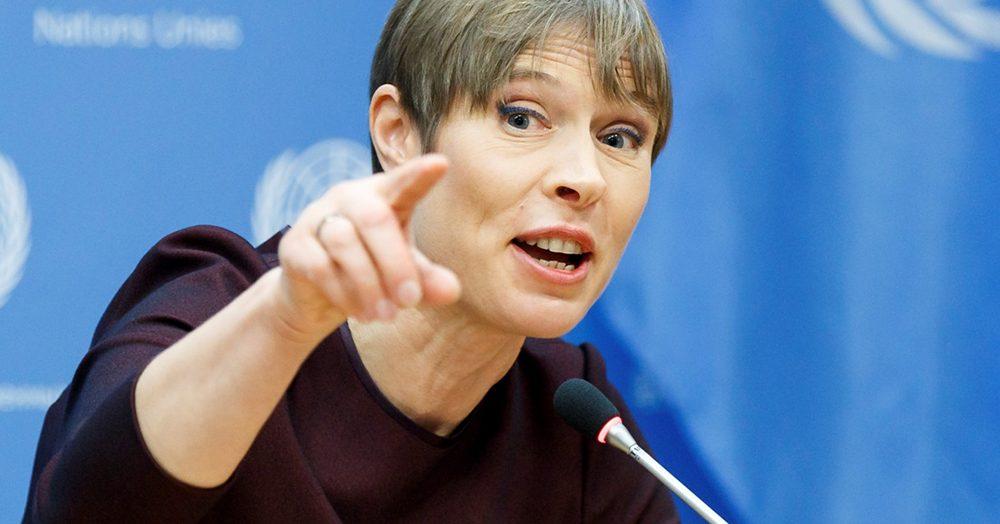 Президента Эстонии отправят в отставку за поддержку ЛГБТ?