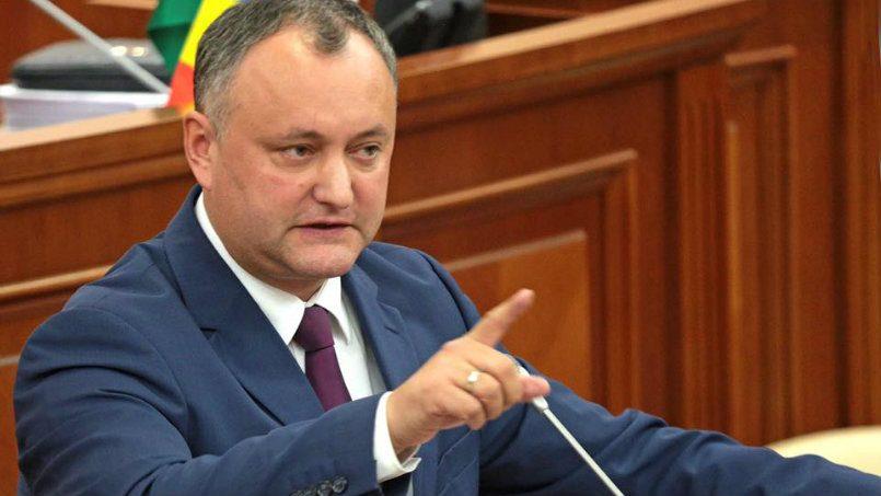 Додон: Те, кто против государственности Молдавии, будут вне закона