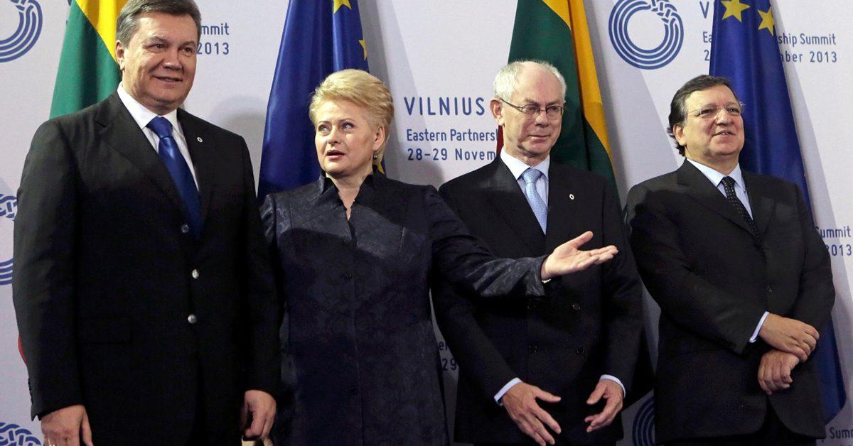 Юбилей позора: 5 лет назад на Вильнюсском саммите закончилась Европа