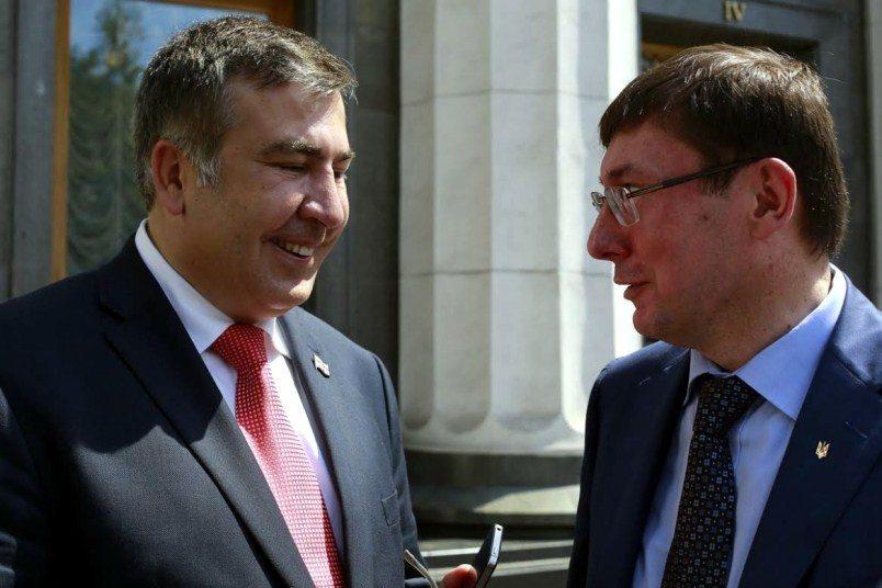 Саакашвили: «вече» уВерховной рады продлится до7ноября