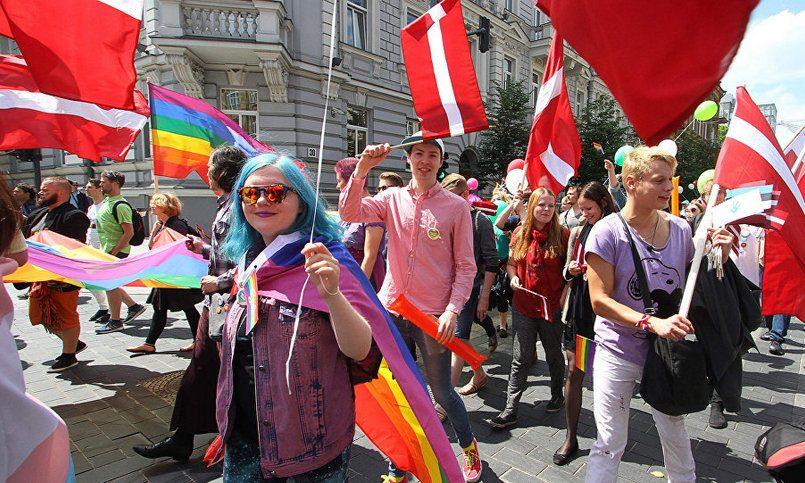 Латвия оказалась самой гомофобной страной европейского союза