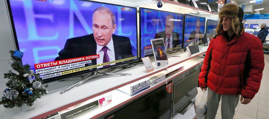Российский телевизор завоёвывает Прибалтику вопреки запретам