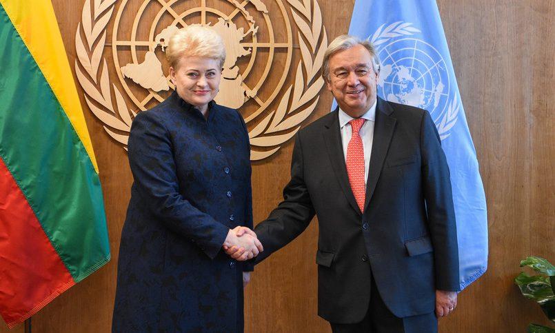 Президент Литвы: РФ отрабатывает нападения насоседние страны