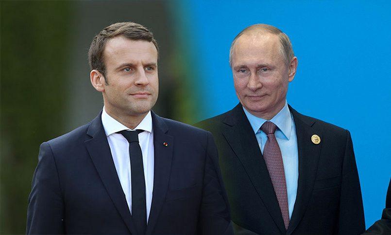 Макрон вызвал Владимира Путина насерьезный разговор— Украинский вопрос