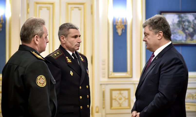 Готовы принять хоть вданный момент : Гройсман ответил Путин навозврат флота