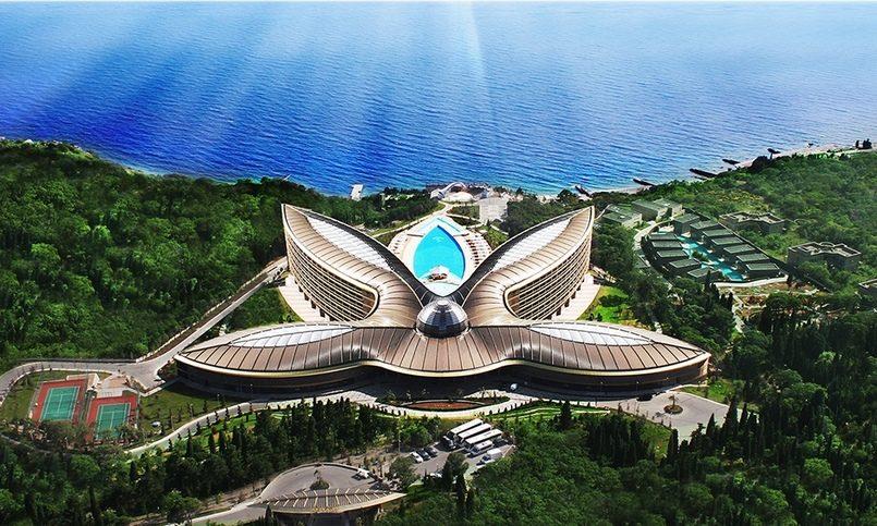 Крымский отель впервый раз признали лучшим местом для отдыха вмире
