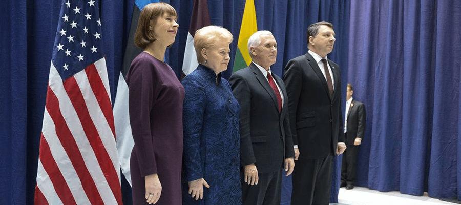 Америка успокаивает Прибалтику Пенсом