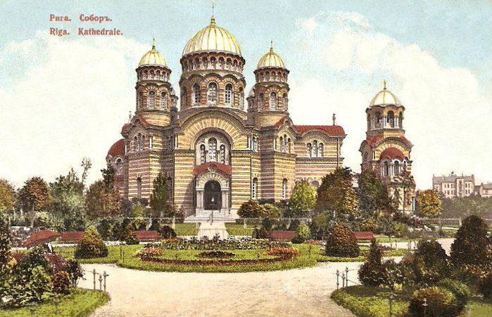 Как русский люд Латвию и Эстонию обживал