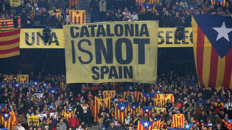 Испания заморозила провозглашение независимости Каталонии