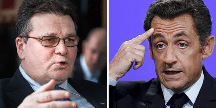 Lithuanian Foreign Minister Scolded Sarkozy for a Trip to Russia