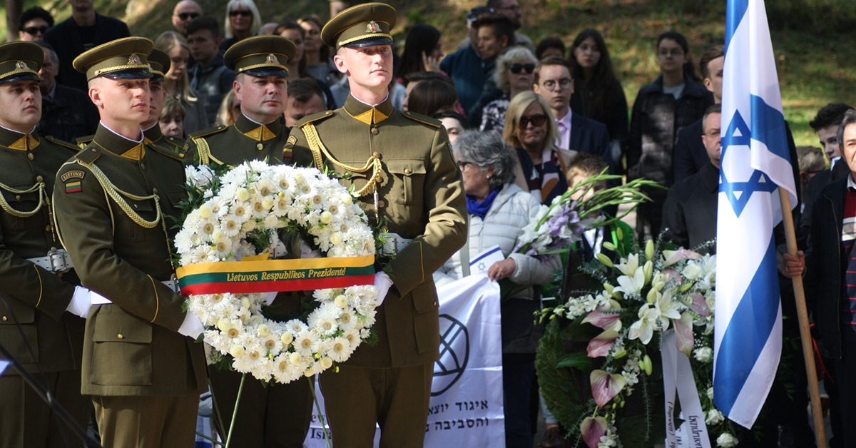Потерявший родственников в годы Холокоста: в Литве и без «лесных братьев» хватает национальных героев