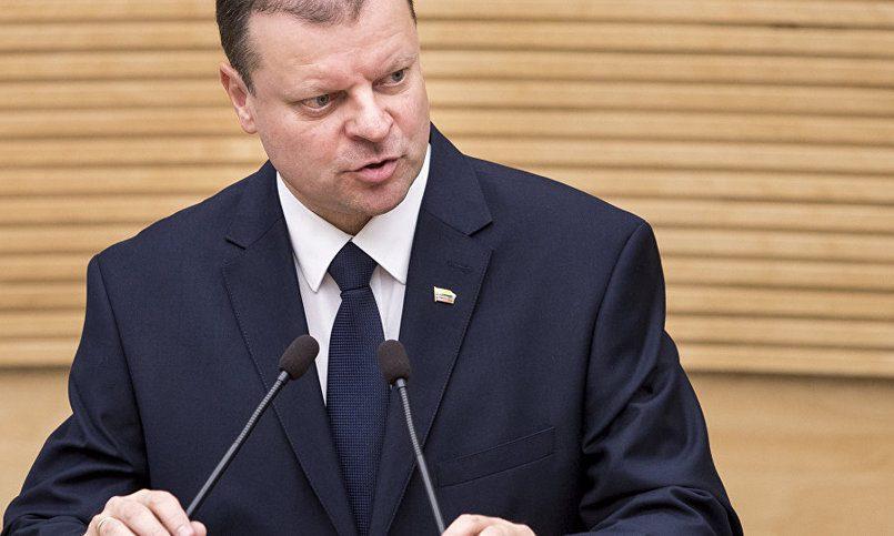Даля Грибаускайте - премьеру Литвы: В случае с РФ экономика от политики неотделима