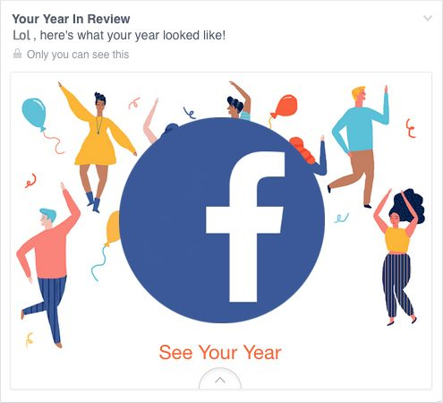 Facebook Year