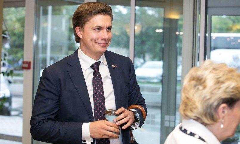 Линкявичюс выходит изпартии— желает идальше возглавлять МИД Литвы