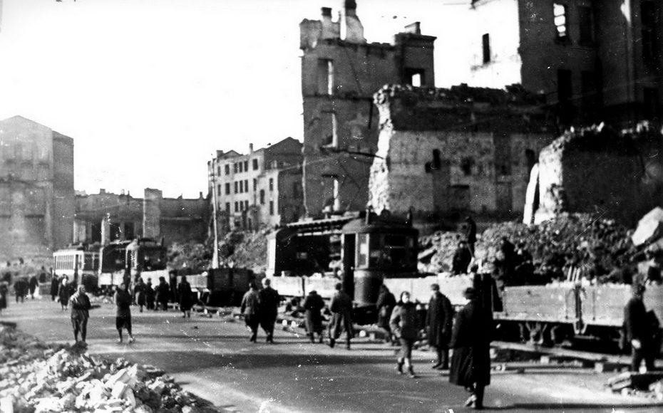 Что представлял собою Киев, освобожденный от нацистов?