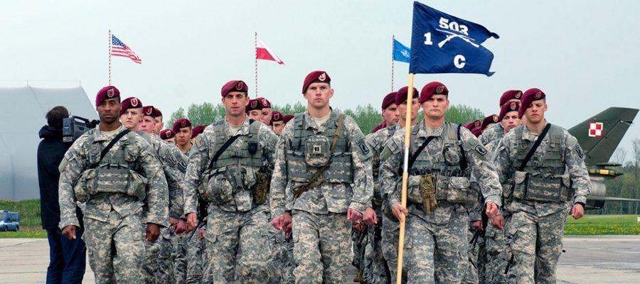 «Мы ждали вас десятки лет!»: в Польшу прибывают американские военные