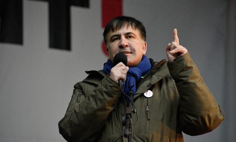Пообщался с репортерами иушел, либо Как Саакашвили надопрос сходил