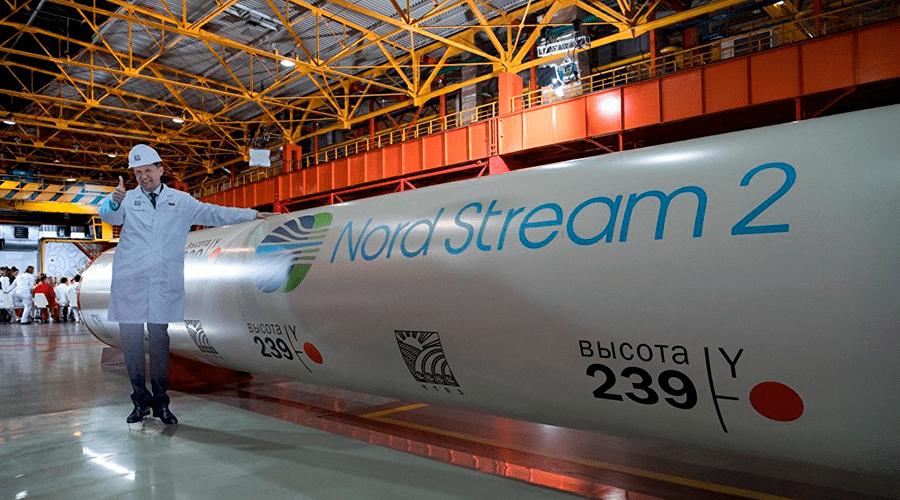Средства наСеверный поток-2 пришли доновых санкций США— Газпром