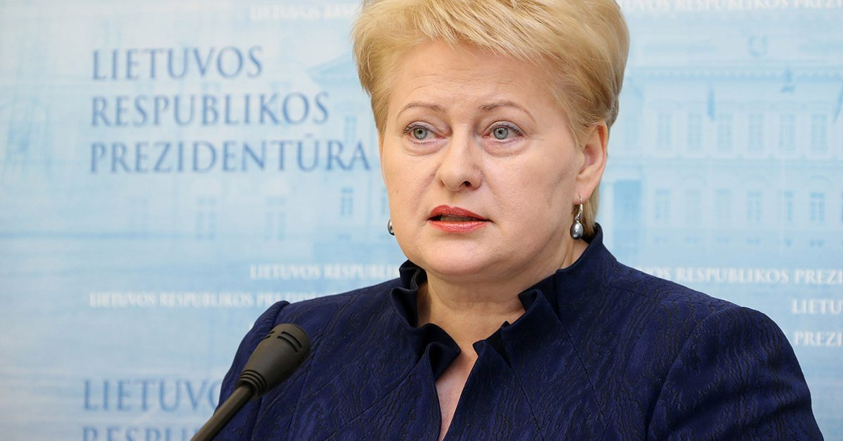 Dalia Grybauskaitė sukritikavo savo prezidentavimą
