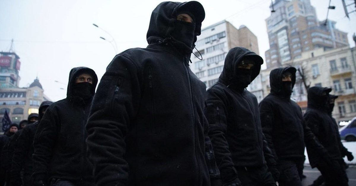 Украинский марш «штурмовиков»