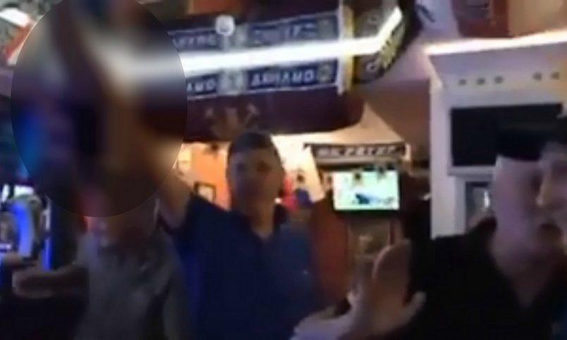 Полиция Великобритании изучает видео из Волгограда, в котором британские фанаты 'кидают зигу'