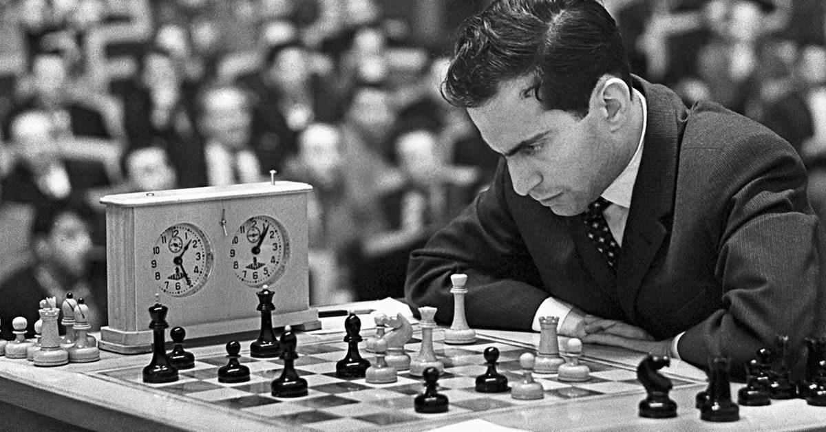 Простой учитель русского языка в Риге стал чемпионом мира: шахматный гений Михаил Таль