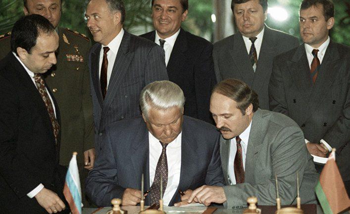 Борис Ельцин о Белоруссии: «…Мы всегда в истории ощущали себя кровными братьями»