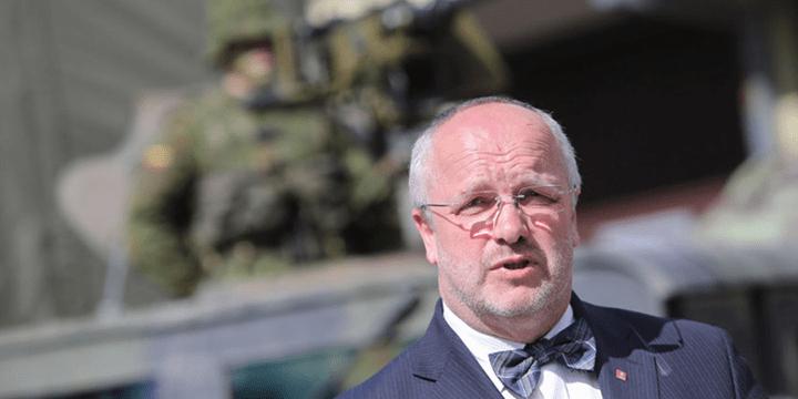Министр обороны Литвы Юозас Олекас
