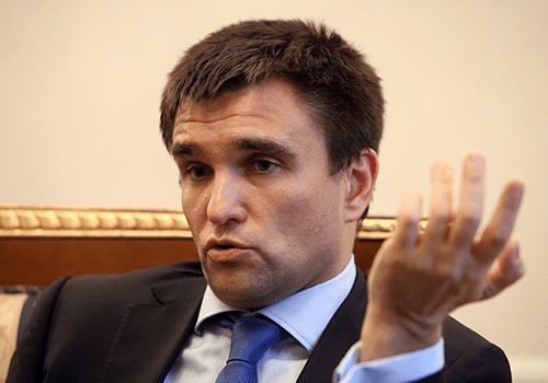 Глава внешнеполитического ведомства Украины Павел Климкин